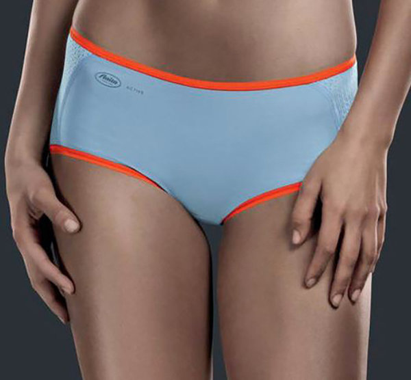 Anita Active Sport Short Blue Orange - 1627